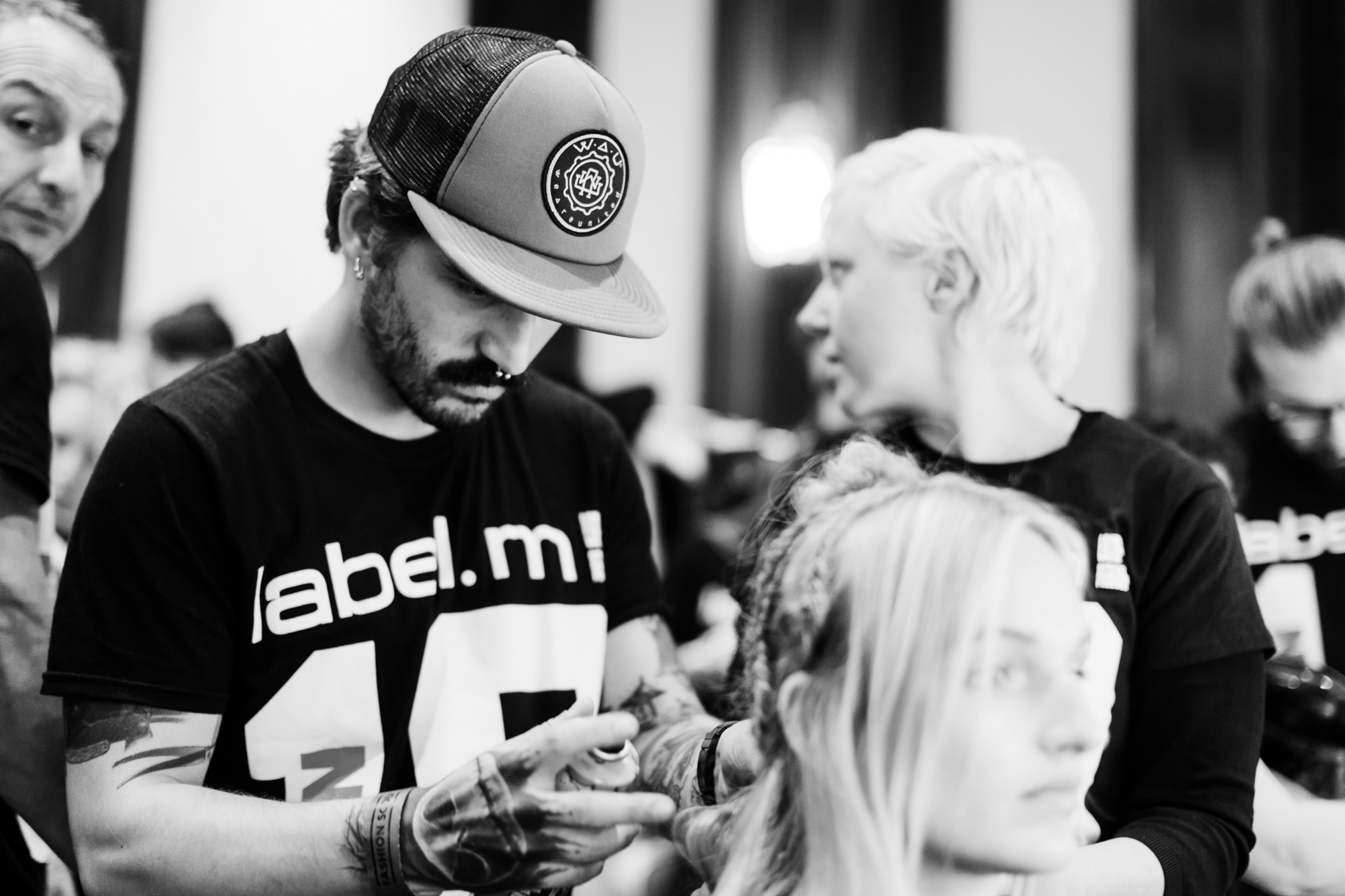 Toni and Guy Team, Apu Jan Backstage