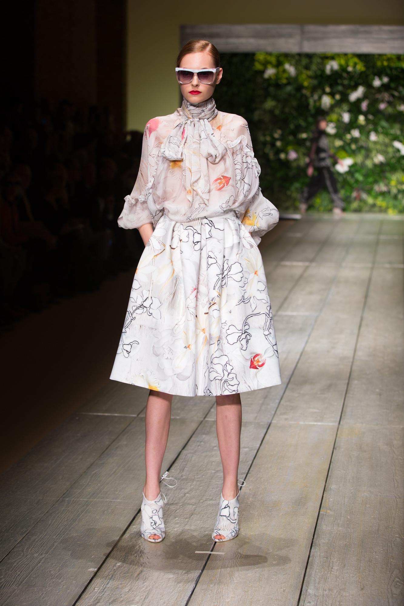 Laura Biagiotti Show Milan Fashion Week SS16