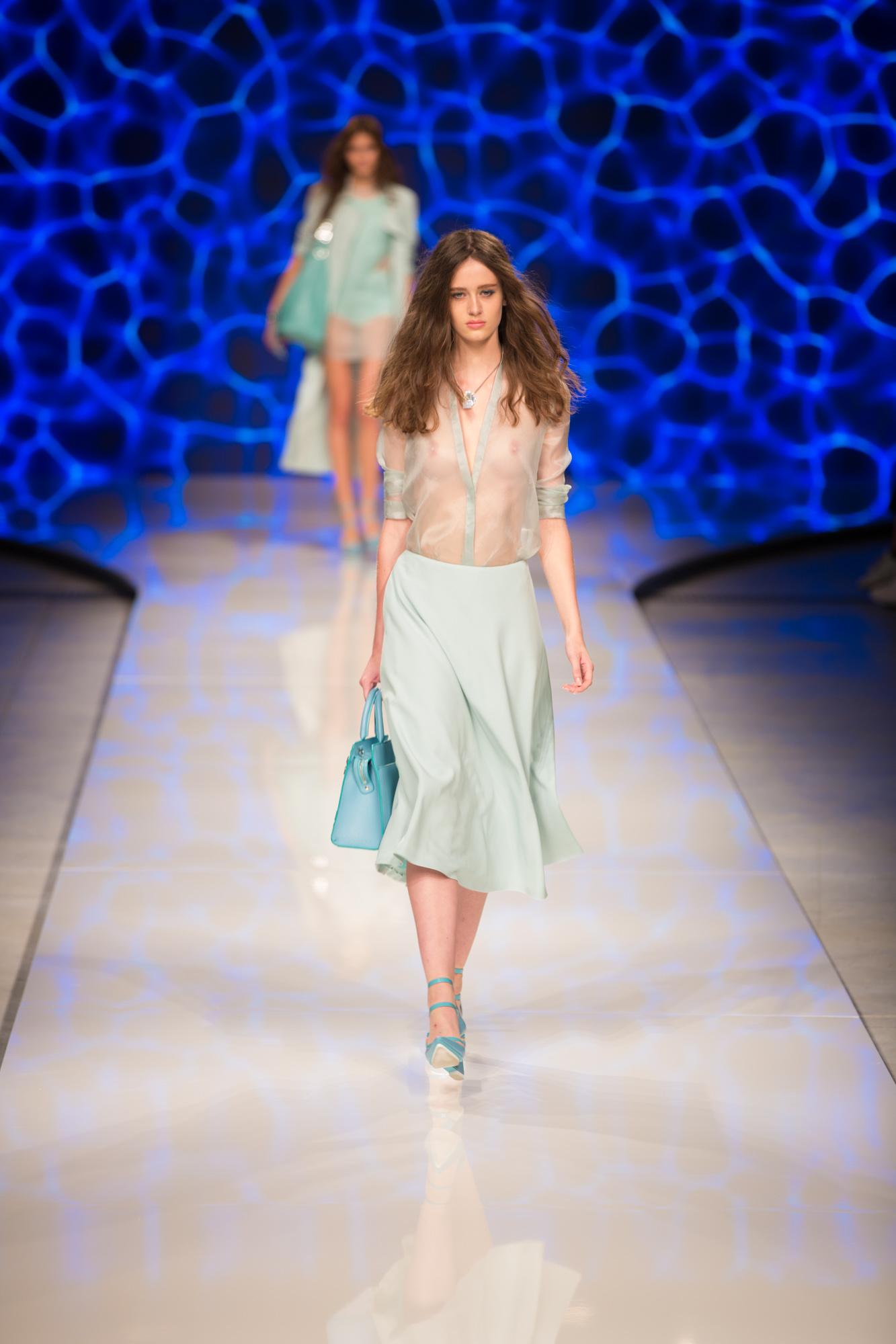 Aigner Show Milan Fashion Week SS16