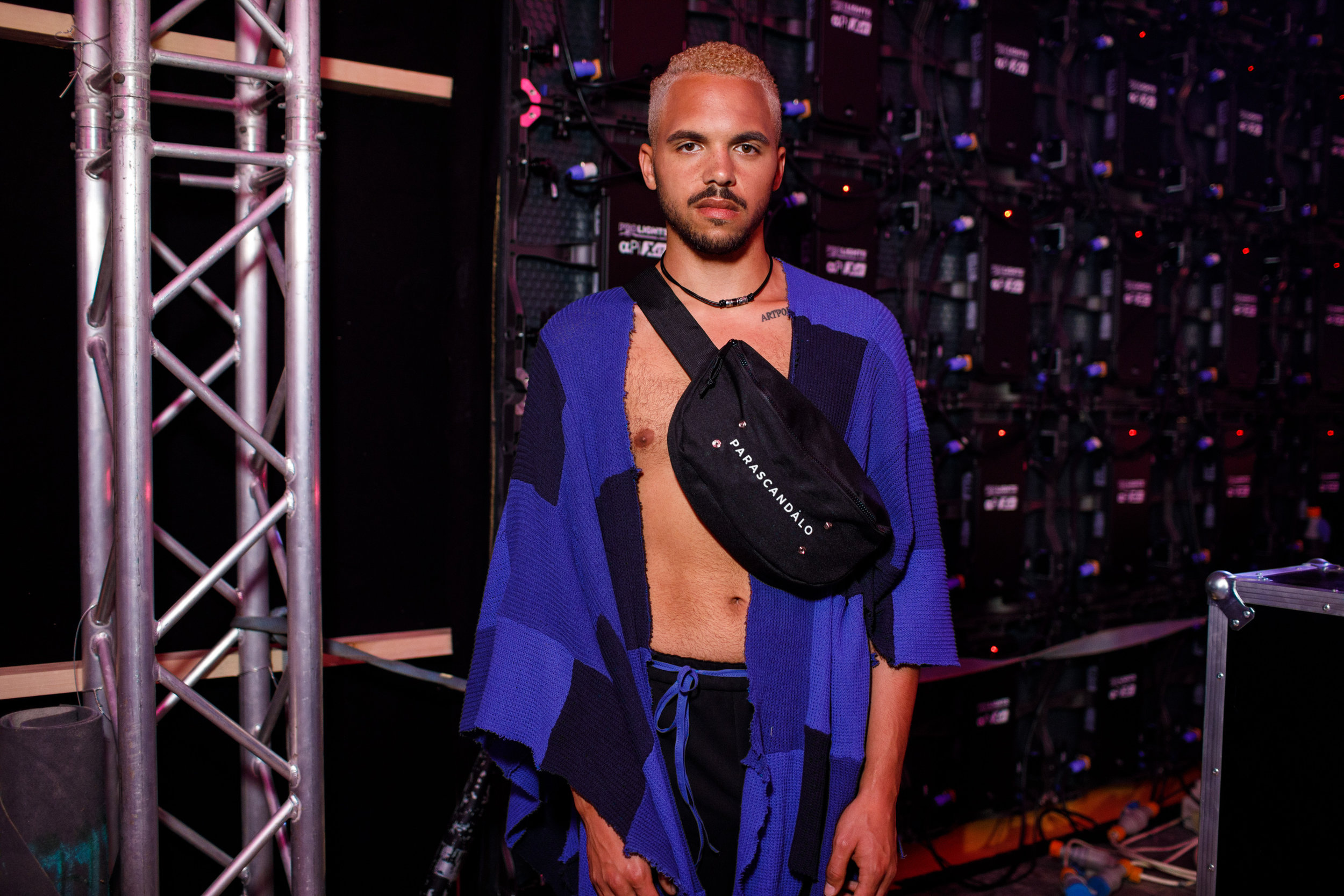 Parascandalo -Backstage, Malta Fashion Week