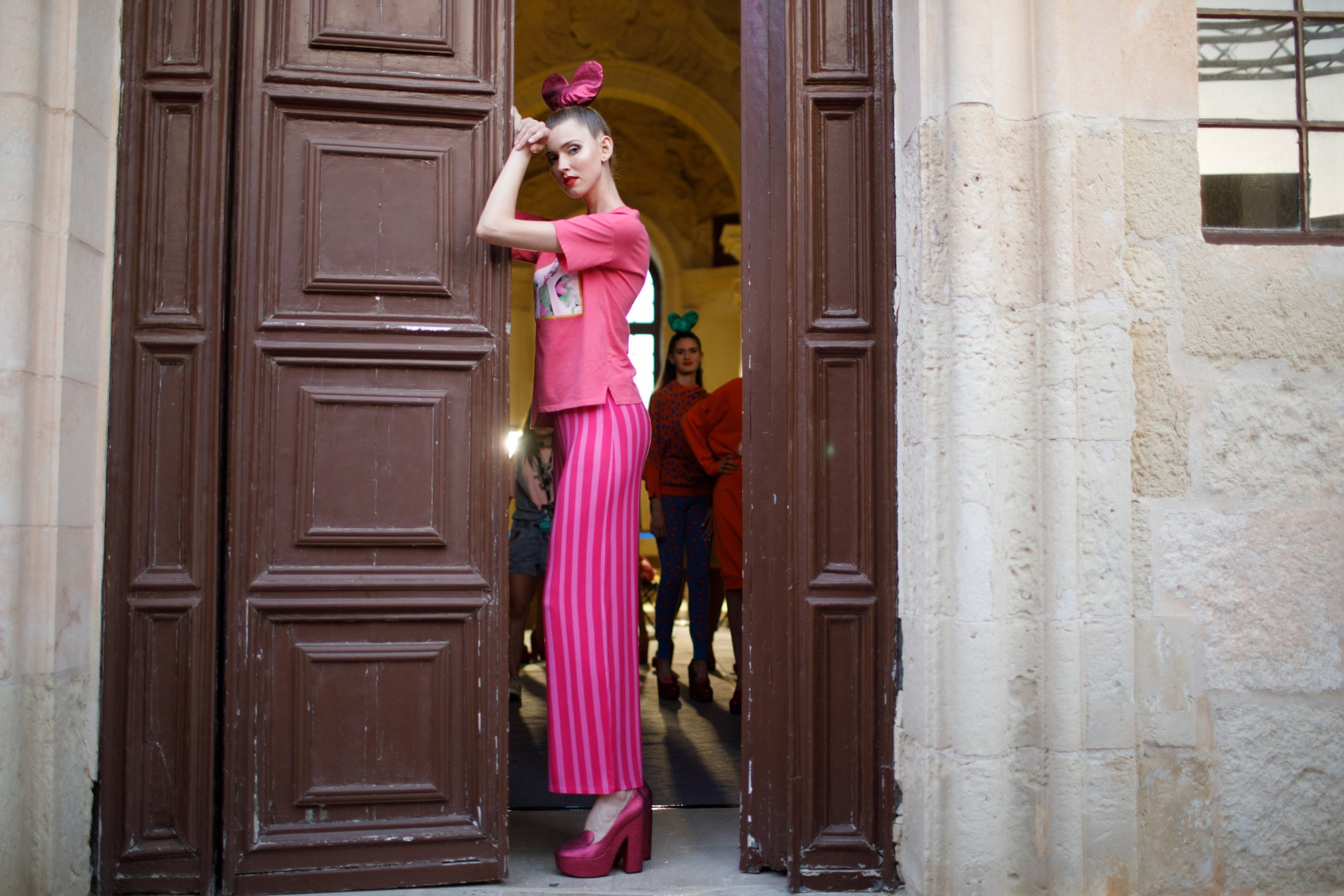 Agatha Ruiz De La Prada -Backstage, Malta Fashion Week
