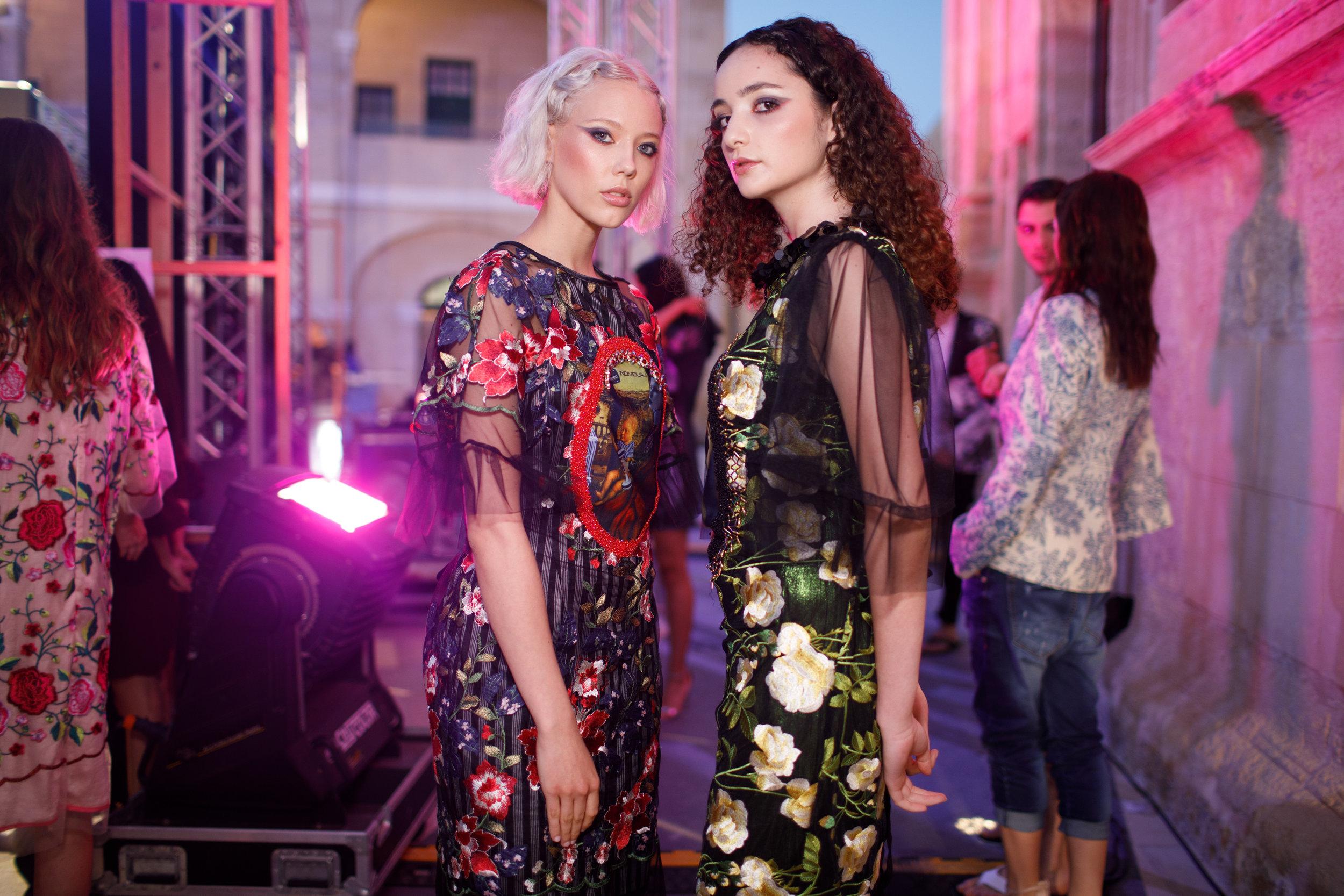 Bata Spasojevic -Backstage, Malta Fashion Week