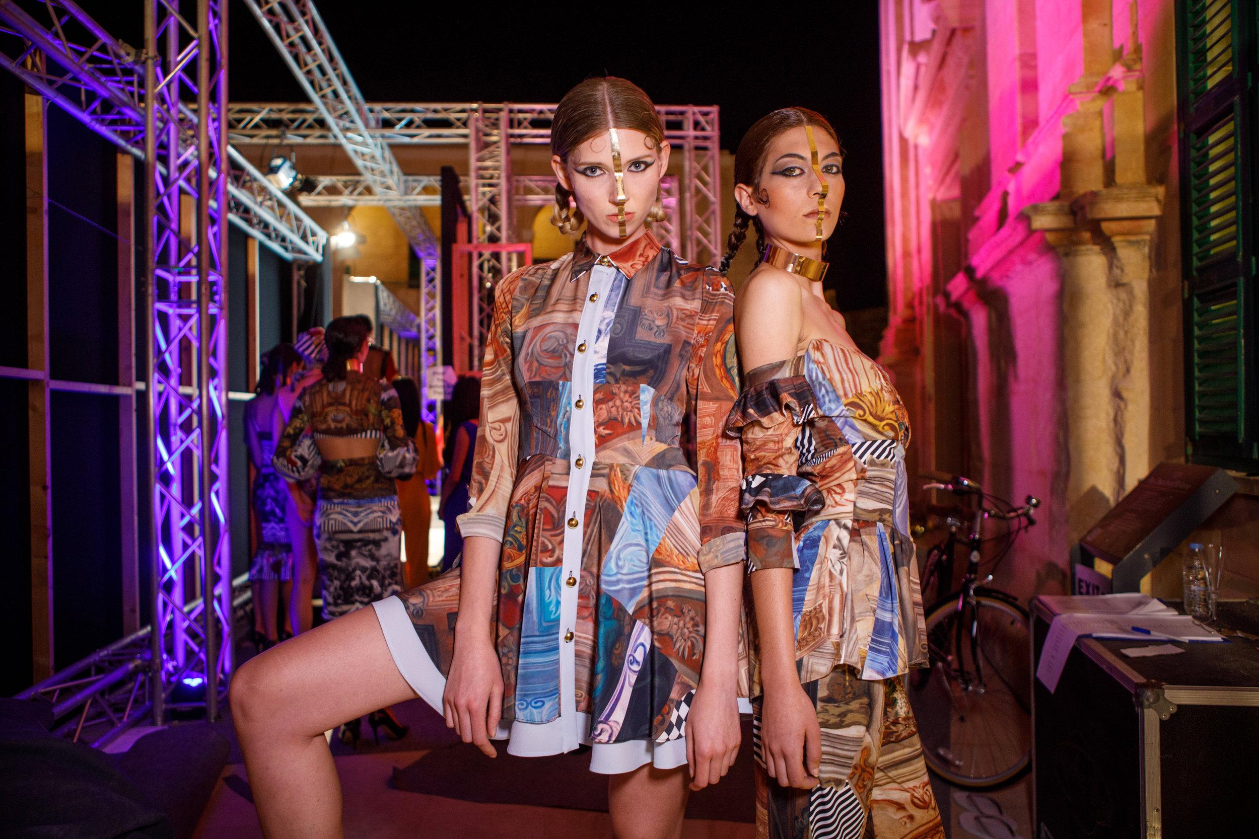 Ritienne Zammit -Backstage, Malta Fashion Week