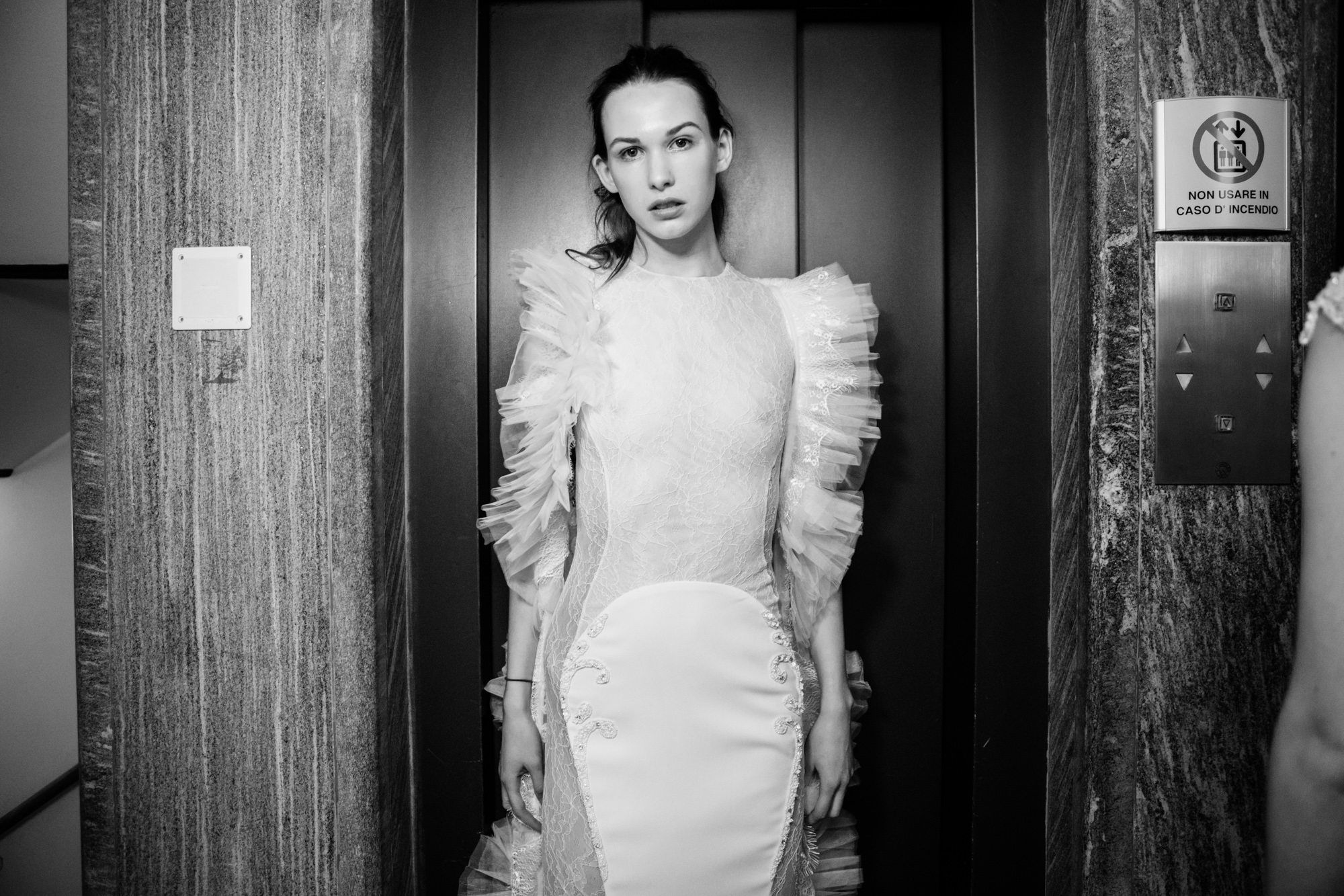 Marija Sabic Backstage - Mad Mood Milan Fashion Week