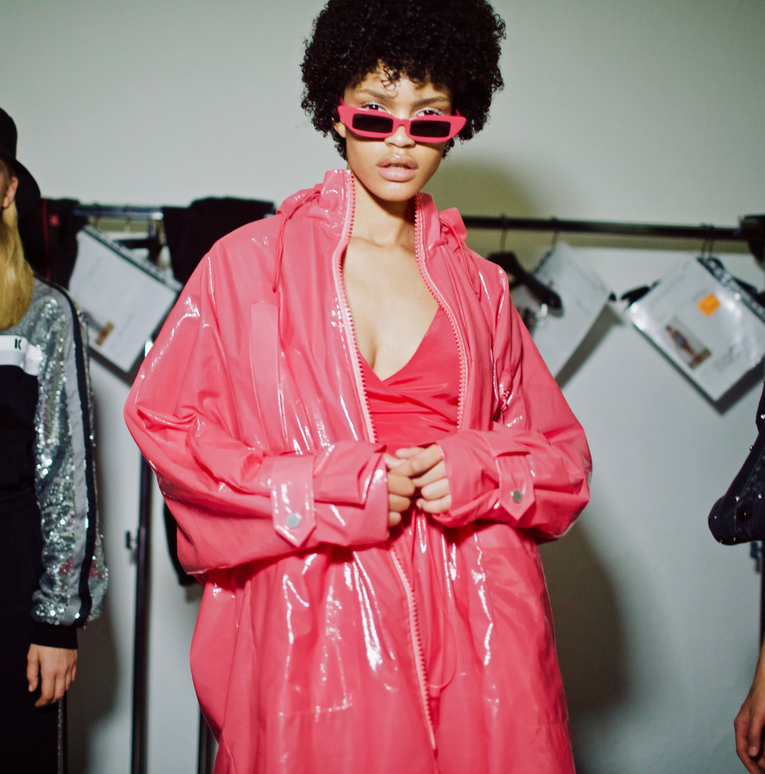 ANNAKIKI Backstage, Milan Fashion Week SS19