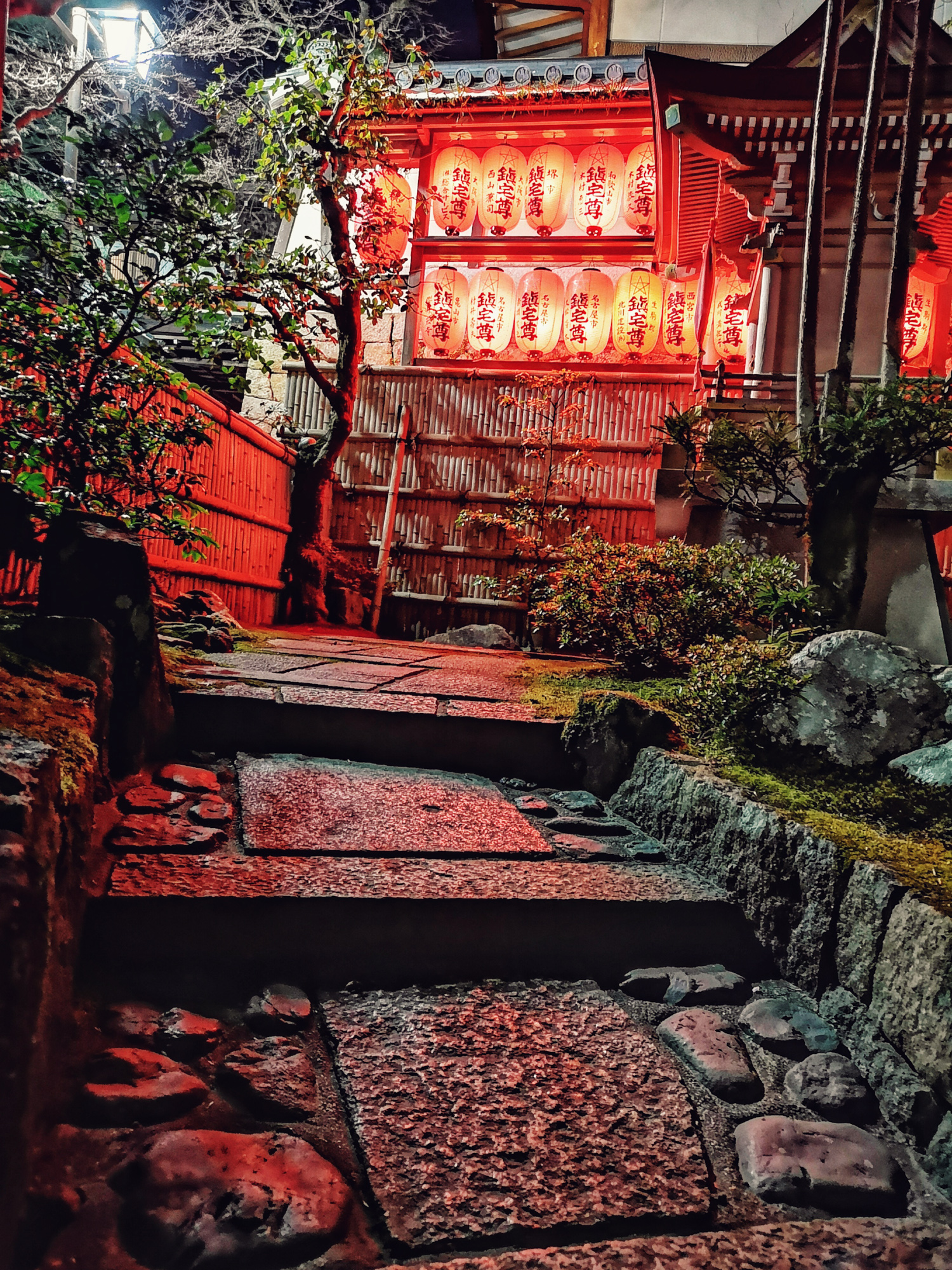 Senju-In Temple, Japan. Huawei P20 Pro Night Mode