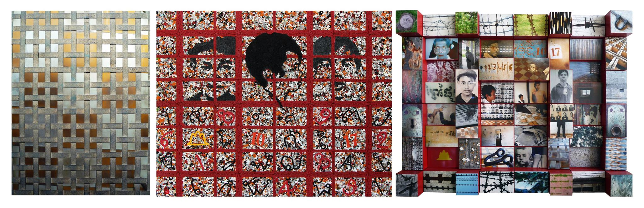 Tuol Sleng Museum: Triptych