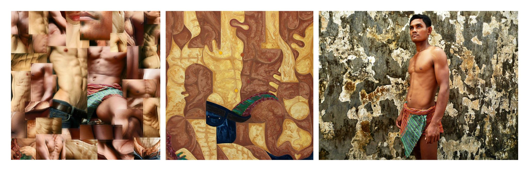 From Melting Pot to Meeting Point (Siem Reap): Triptych