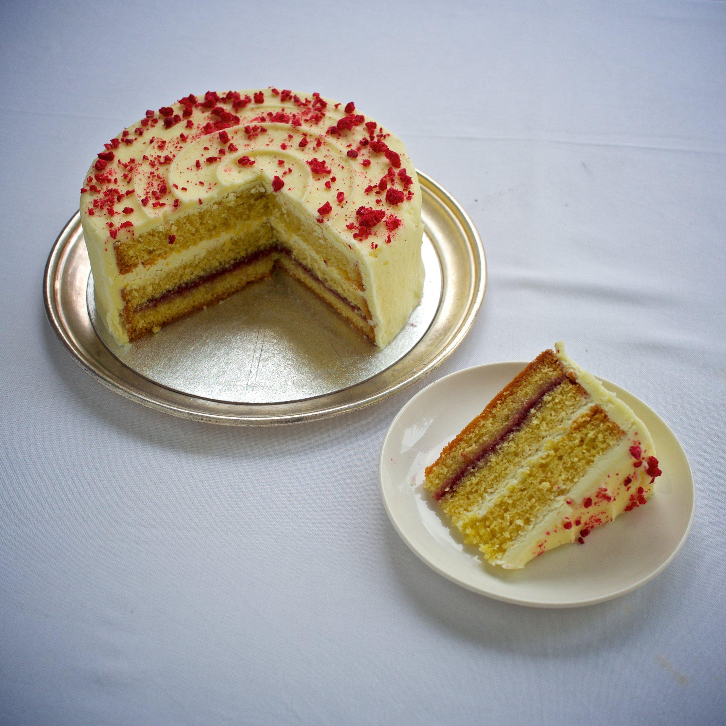 Classic Iced Sponge Cakes