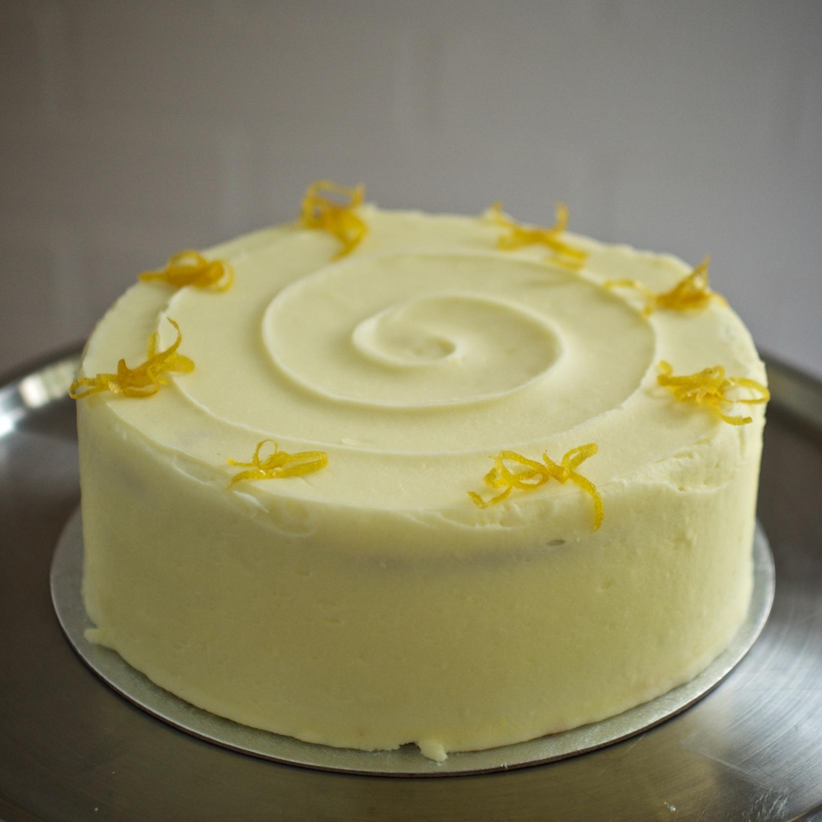Lemon Cake    From £18.00