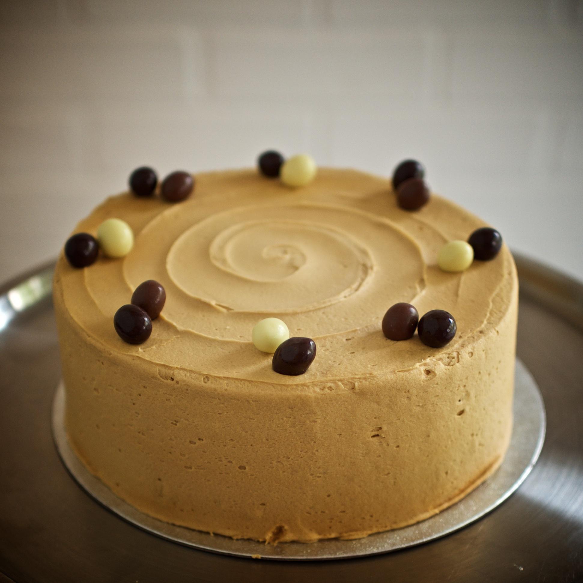 Coffee & Walnut Cake    From £18.00