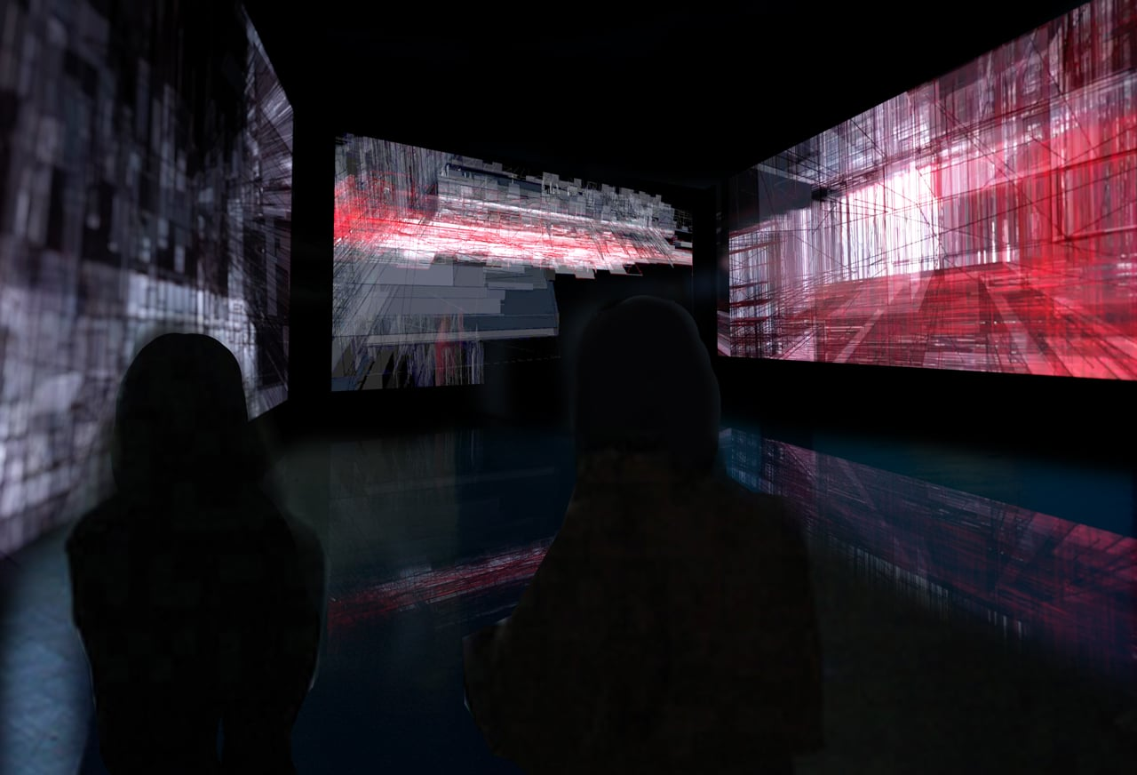 Bridge Videoinstallation