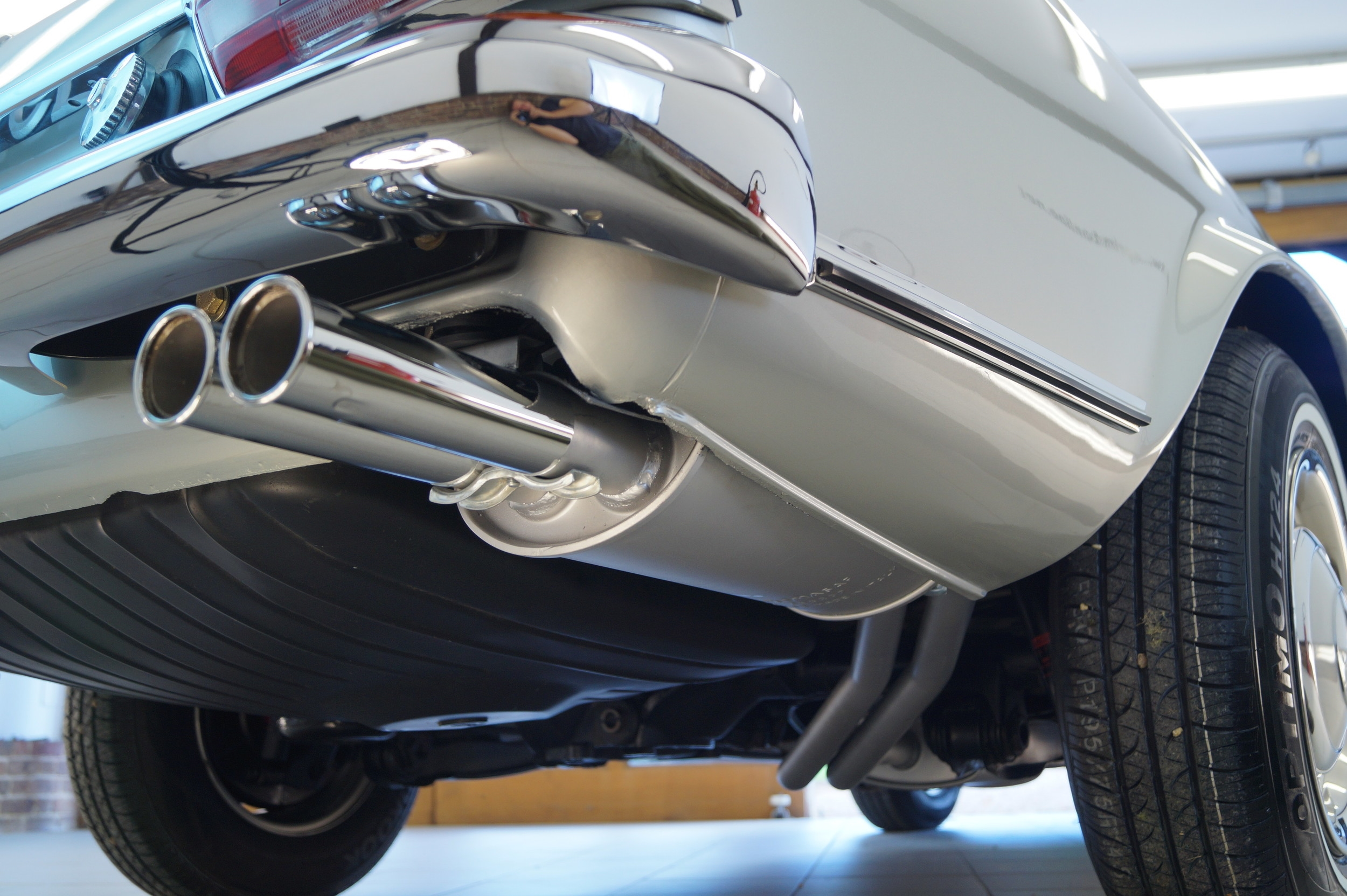 all new seam welded exhaust , bumpers, and detailed underside