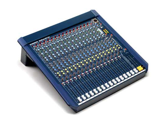 Copy of Analog and digital mixers are available