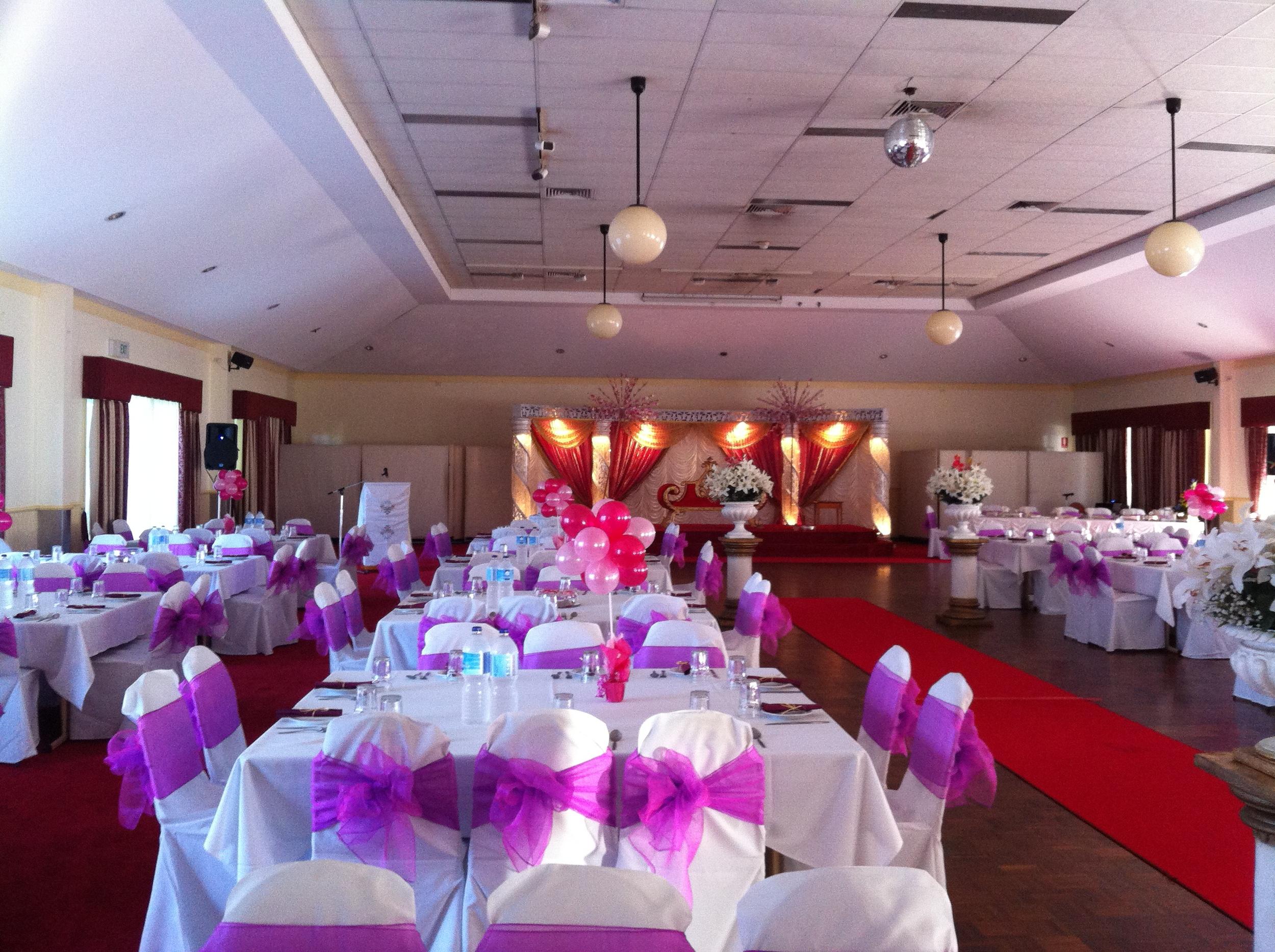 Malaysian wedding reception at Mt Gravatt