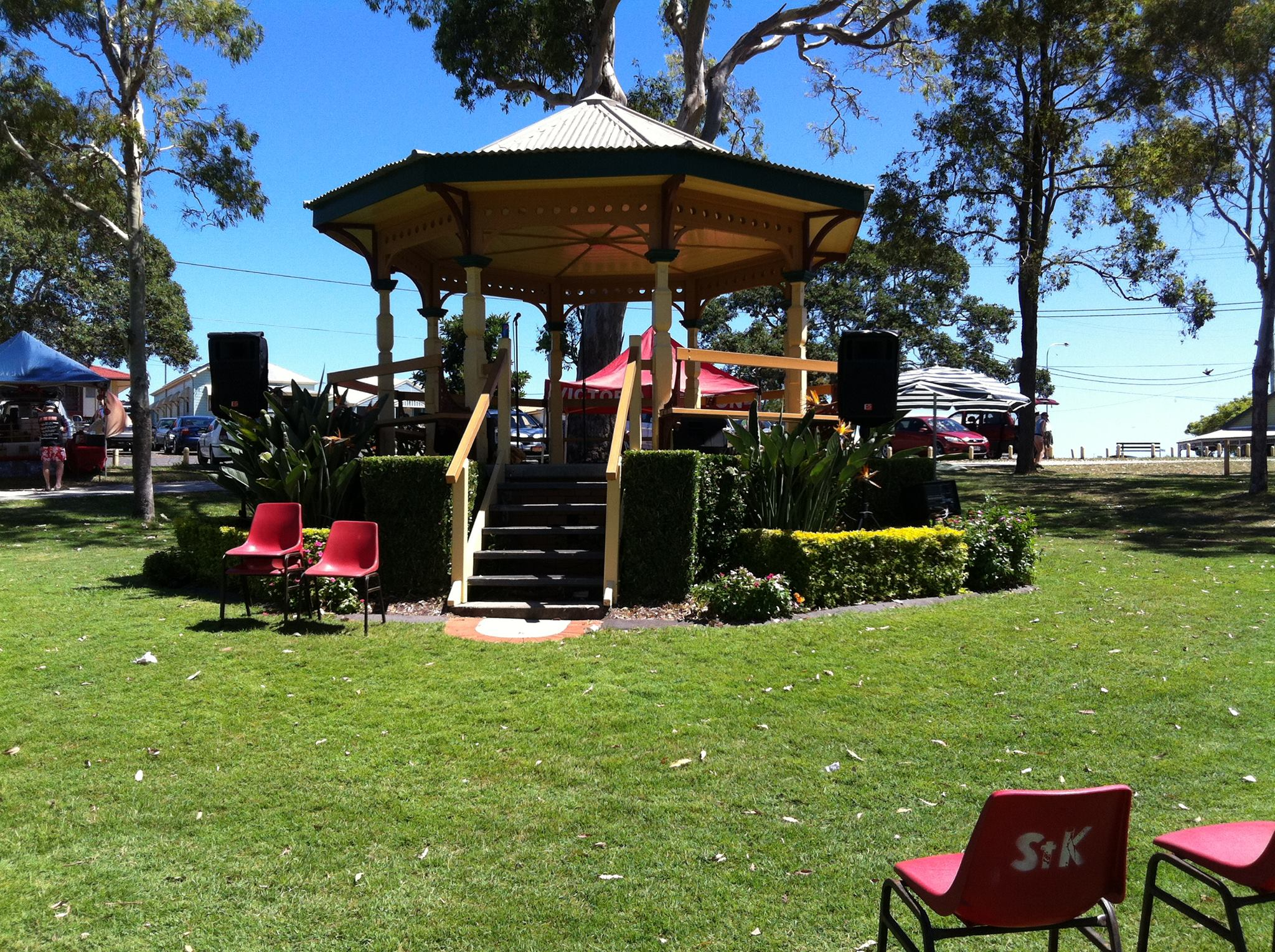Acoustic music event at Scarborough