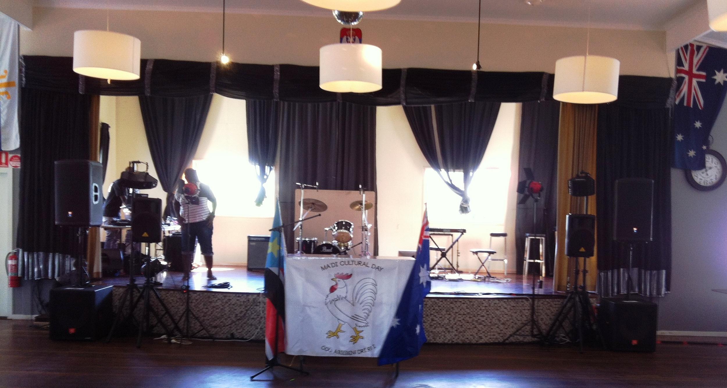 Cultural event at Acacia Ridge