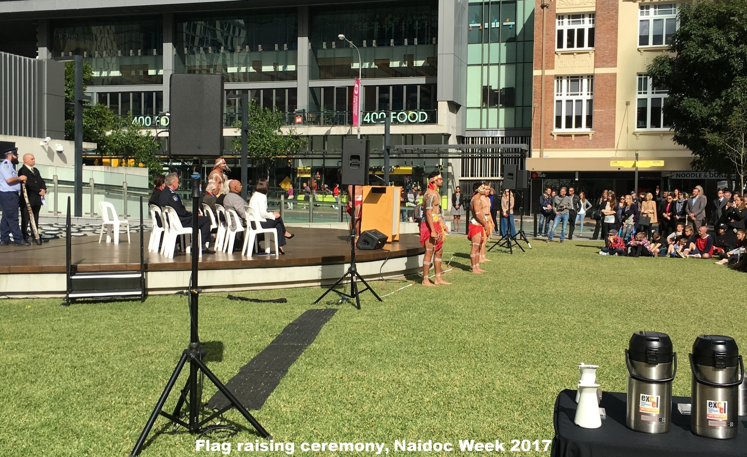 Raising the Flag ceremony, NAIDOC Week 2016 for Queensland Corrective Services