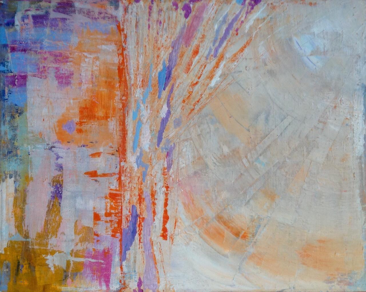 Dawn 2015 - Acrylic on Canvas - 50x40cms