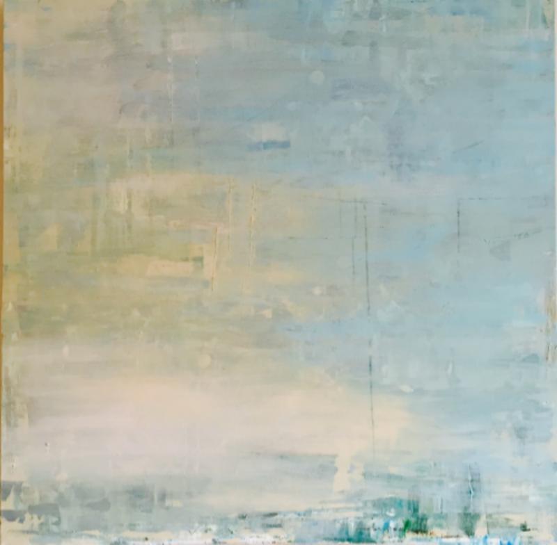 Mist 2015 - Acrylic on Canvas - 100x100cms
