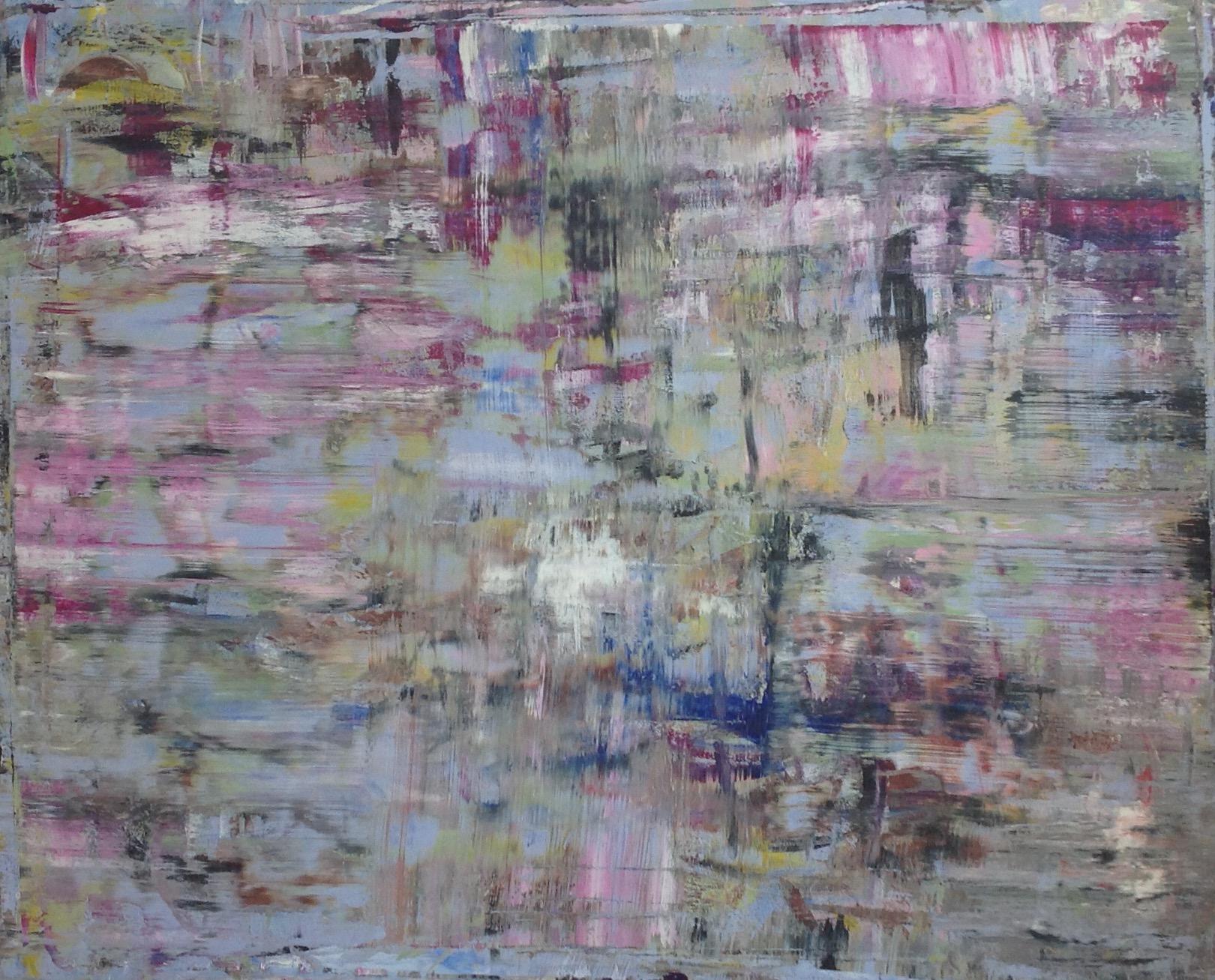 The Beginning 2013 - Acrylic on Canvas 150x120cms