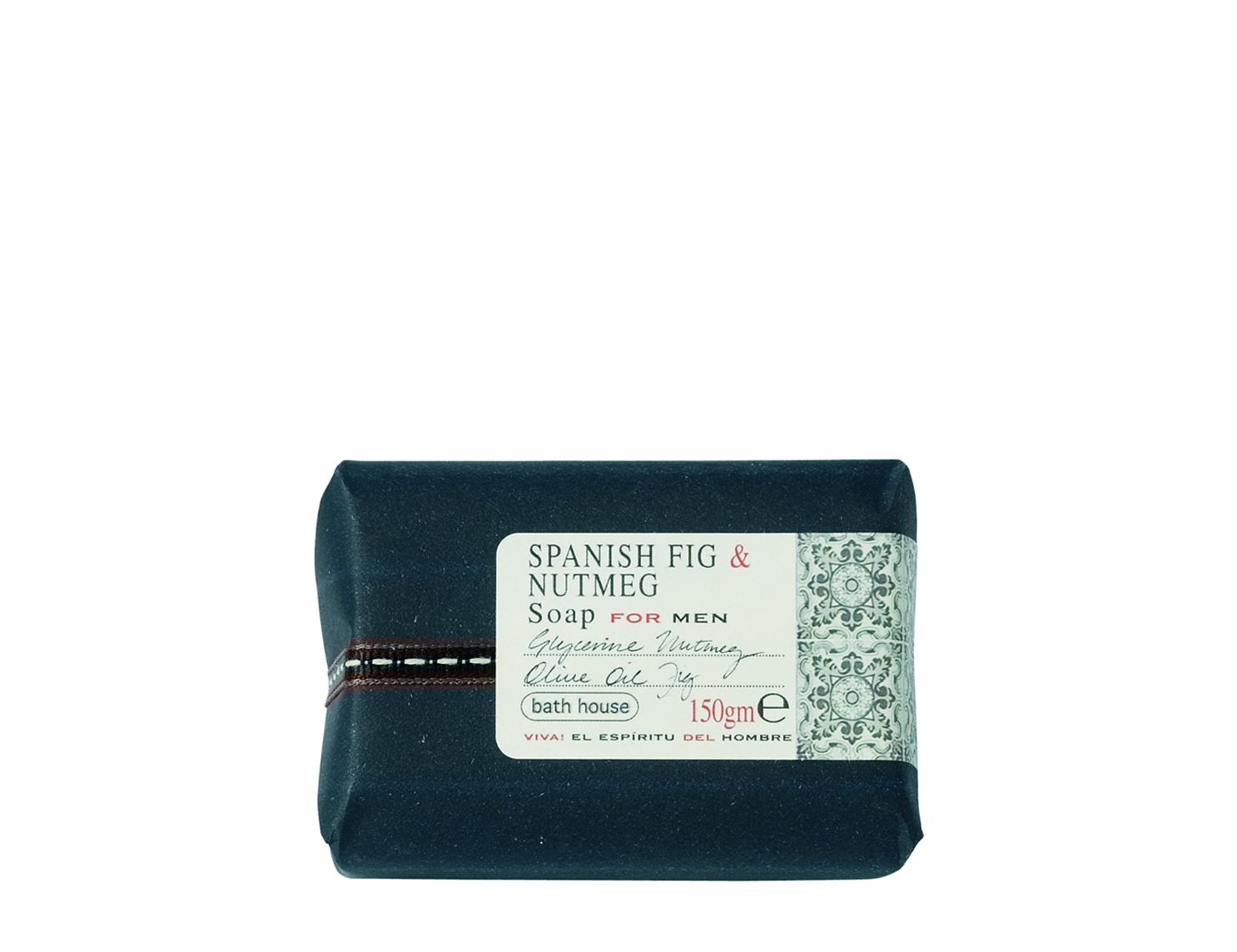 Spanish Fig & Nutmeg Soap  £6.25