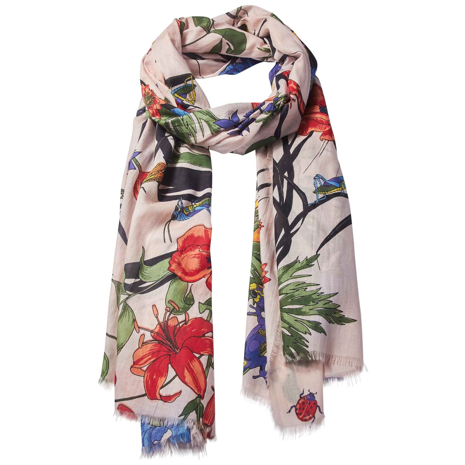 Living Garden 100% Cotton Scarf  £42.00