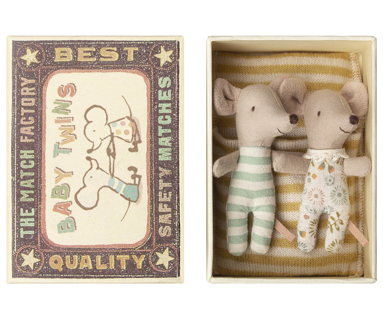 Mouse Twins in Box  £26.00