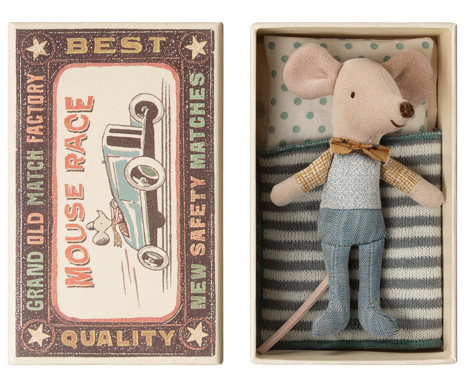 Little Brother Mouse in a box  £19.50