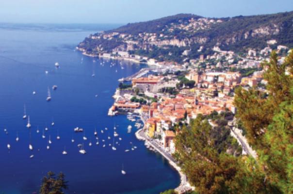 The French Mediterranean coast