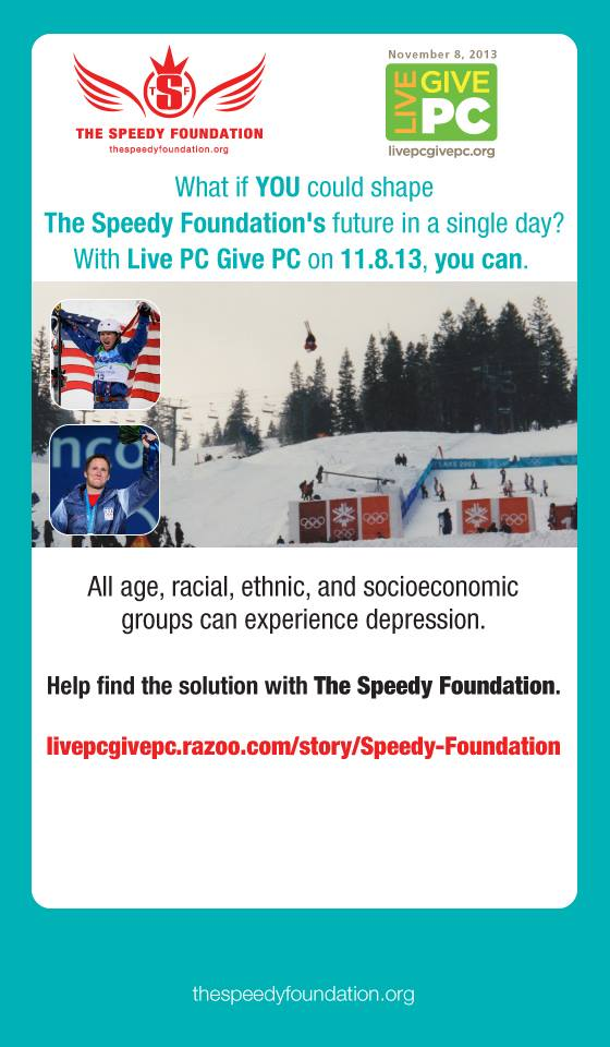 Days of Online Giving — The Speedy Foundation