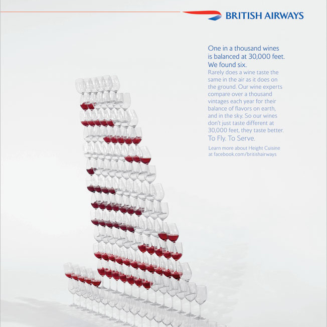 British Airways  Photographer: Marcus Gaab  Production: GoodBlu  OnSet Production: Boutique Productions