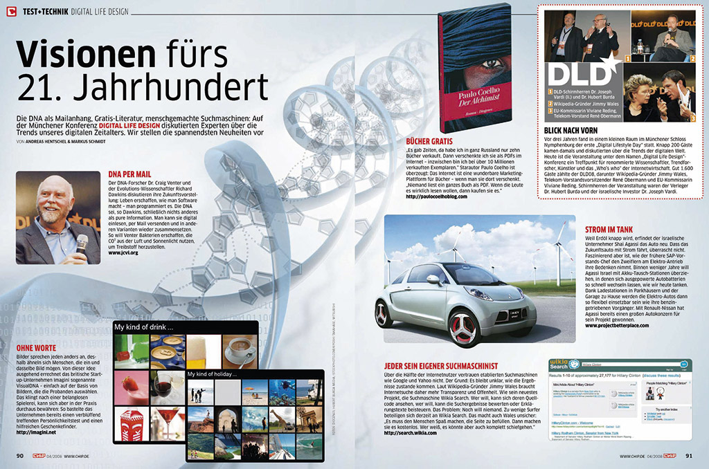 Report: Digital Life Design Kongress