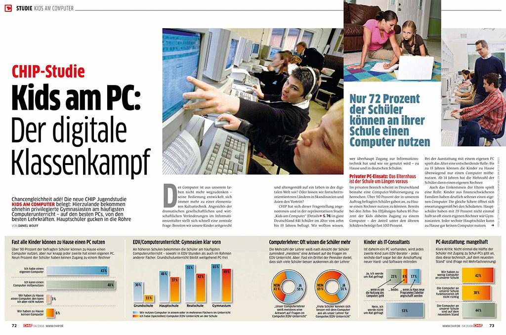 Studie: Kids am PC