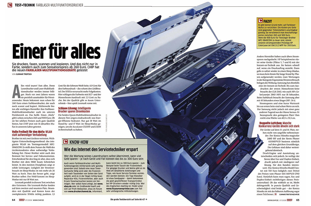 Test: Multifunktionsdrucker