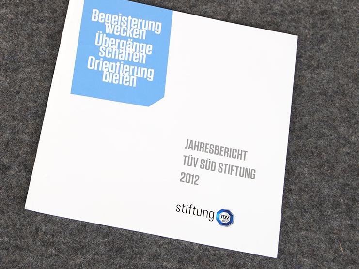 Stiftungsbericht 2012
