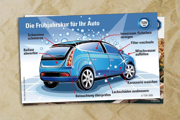 Frühjahrskur für Ihr Auto