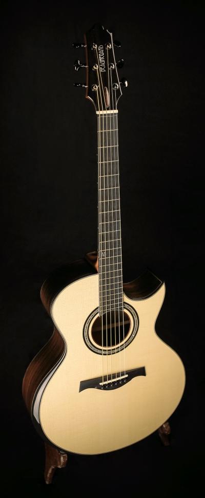 I play Beauregard Guitars