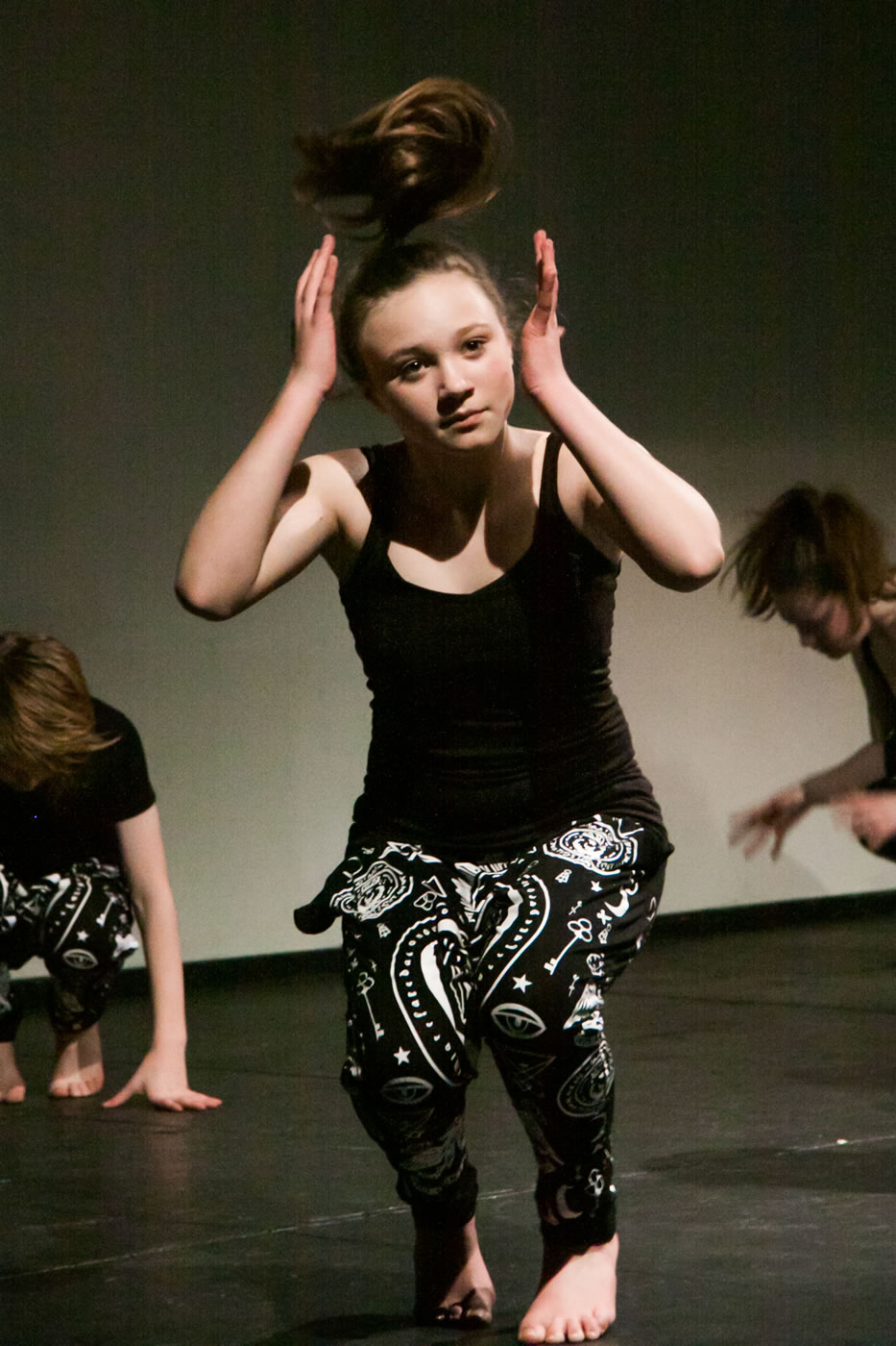 Modern Dance in the Annual Dance Show