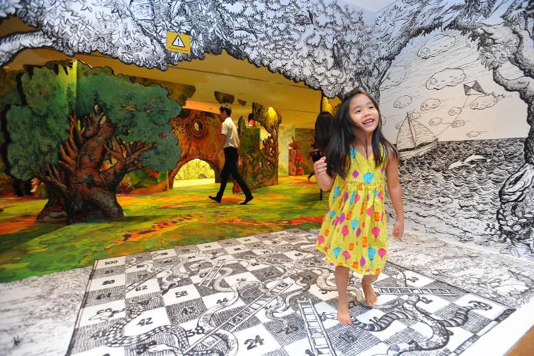 Art Playscape at Keppel Centre for Art Education 2016