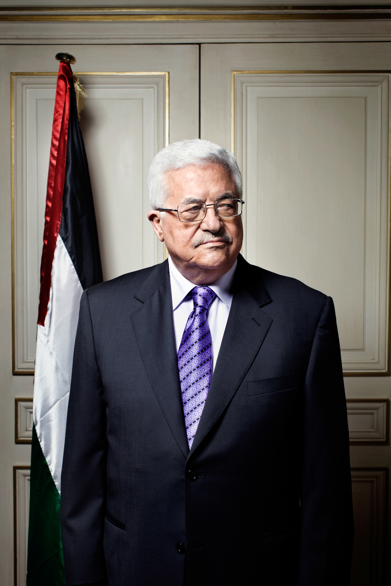 MAHMOUD ABBAS FOR NEWSWEEK