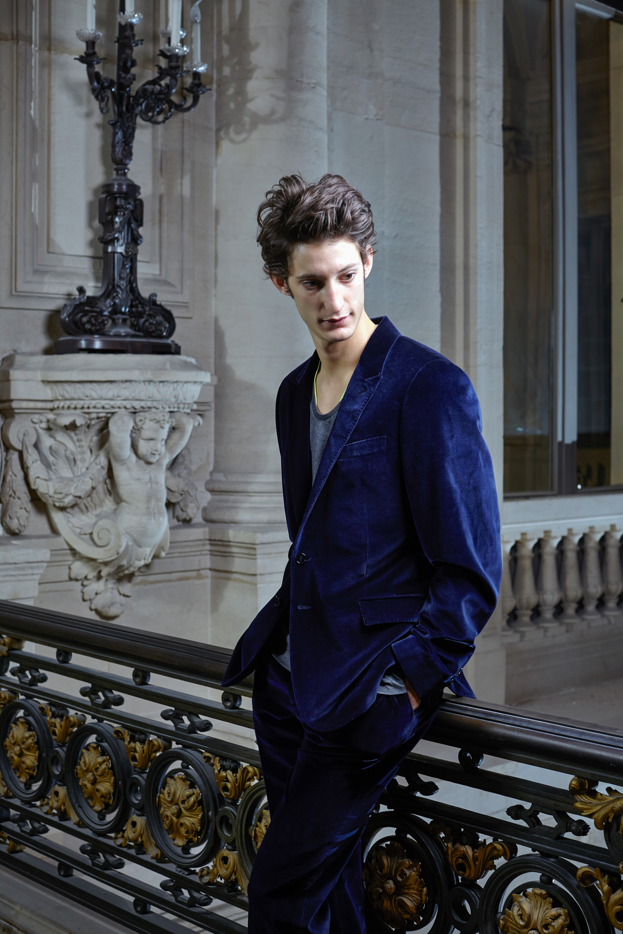 ACTOR PIERRE NINEY FOR D LA REPUBBLICA