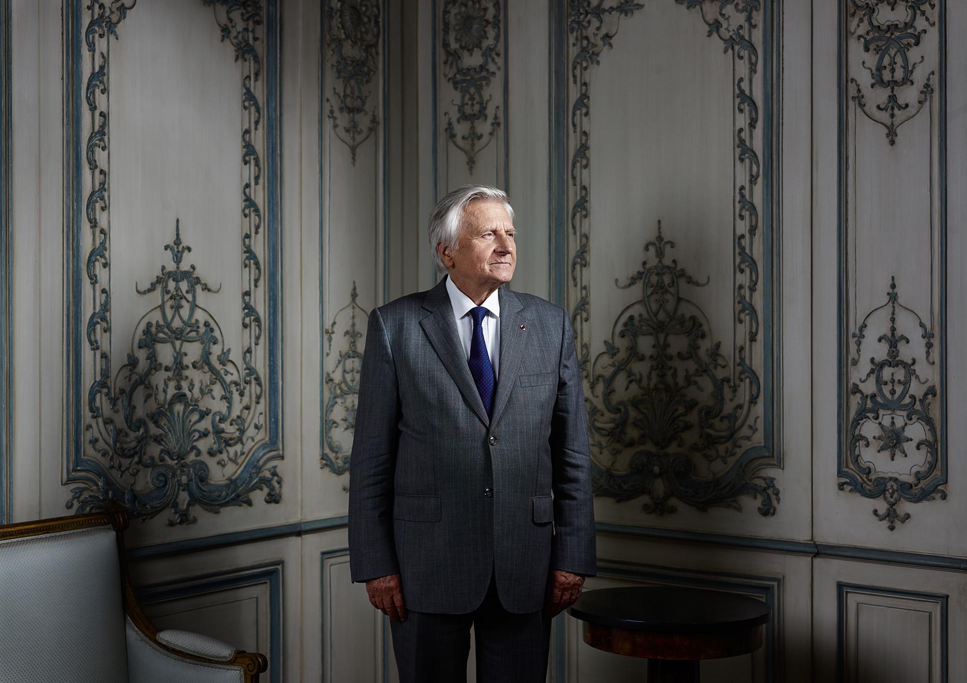 JEAN CLAUDE TRICHET  FORMER PRESIDENT BCE  FOR LE MONDE