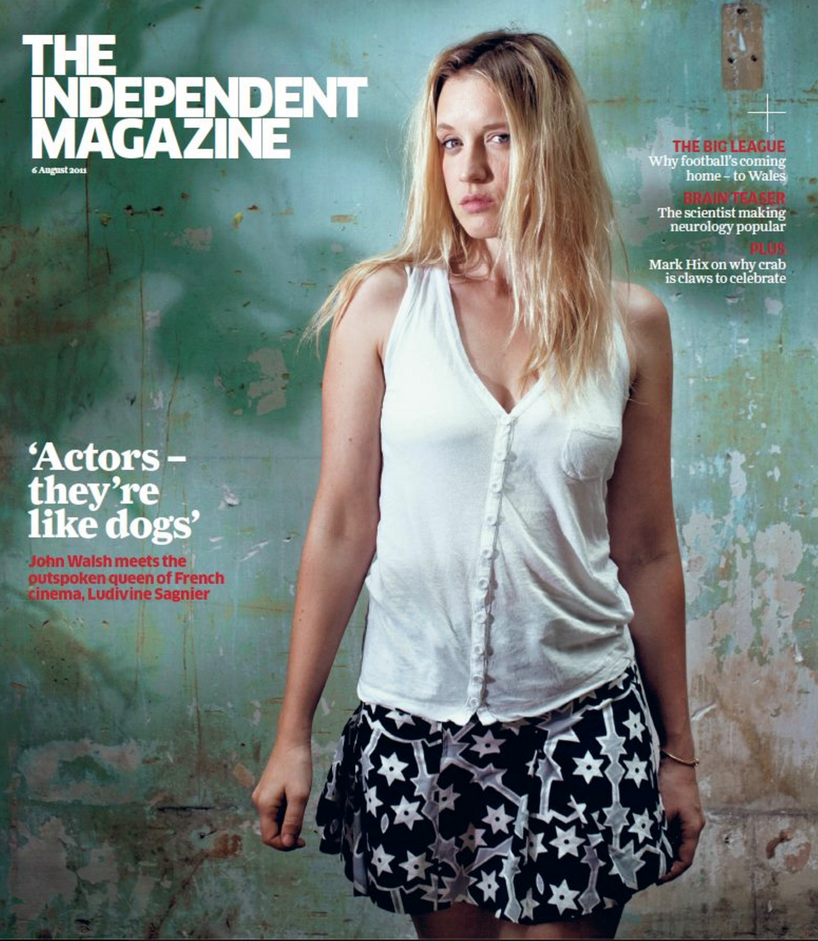 THE INDEPENDENT MAGAZINE