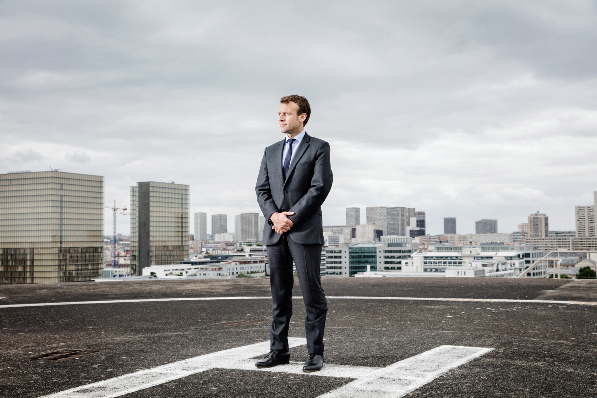 Emmanuel Macron for TIME MAGAZINE