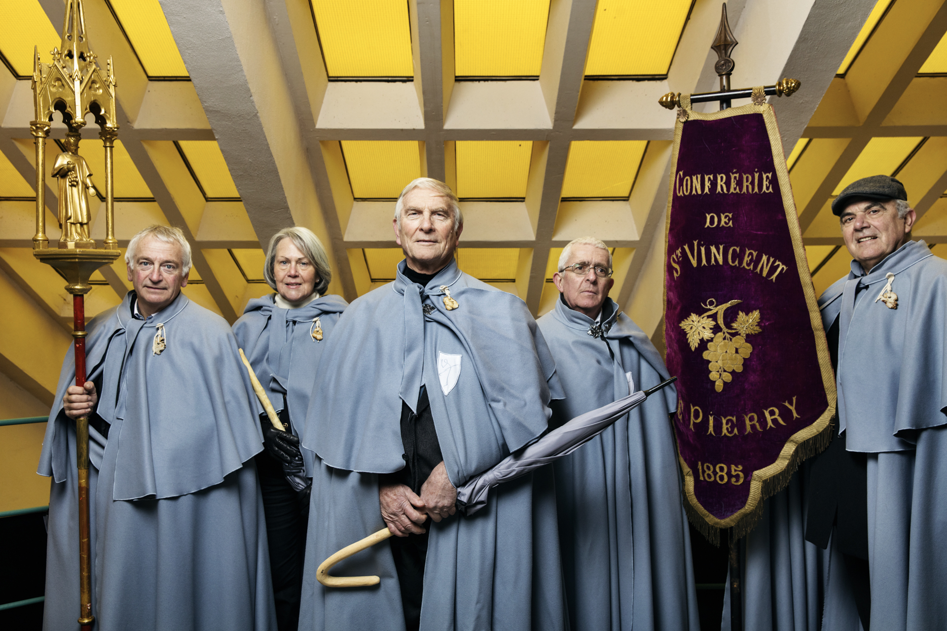 The St Vincent guild of Champagne winemakers