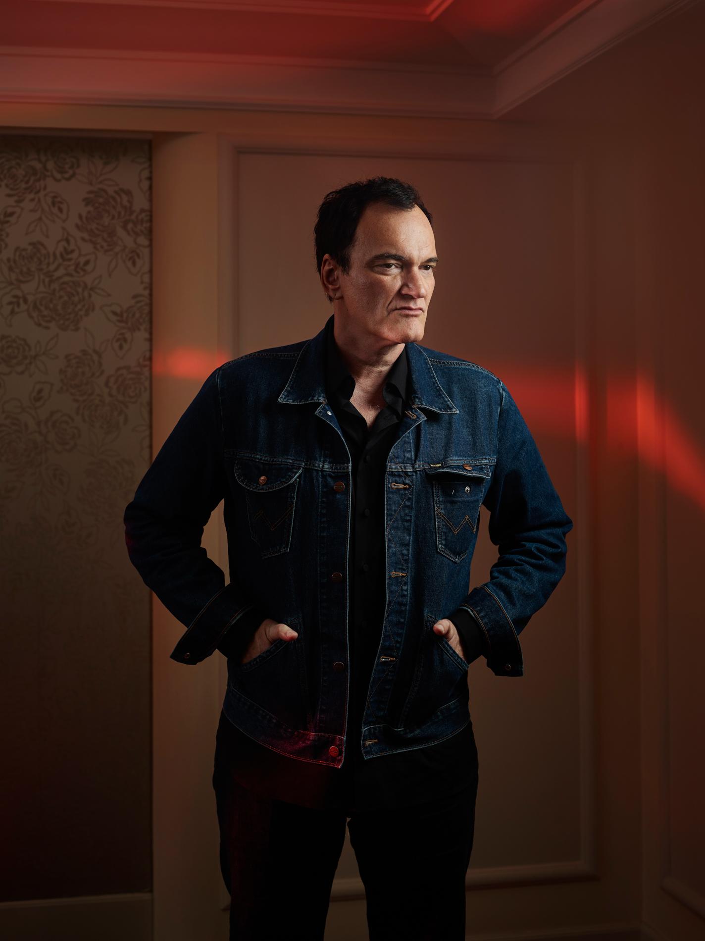Quentin Tarantino for Le Monde