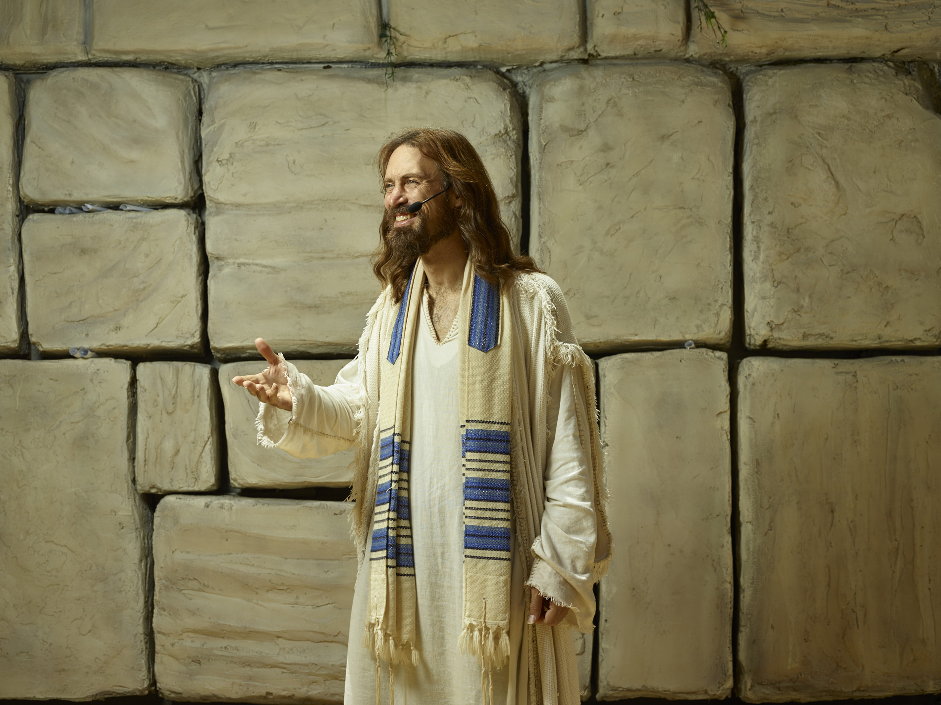 Michael Job as Jesus for National Geographic