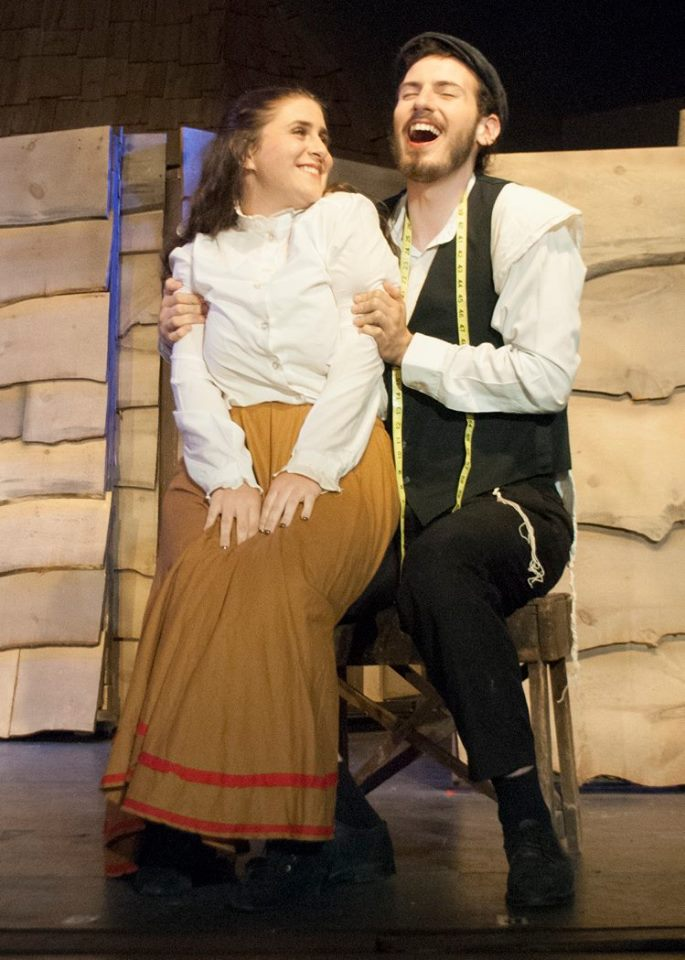 """Performing as Motel in Sullivan County Dramatic Workshop's """"Fiddler On the Roof"""", 2015"""