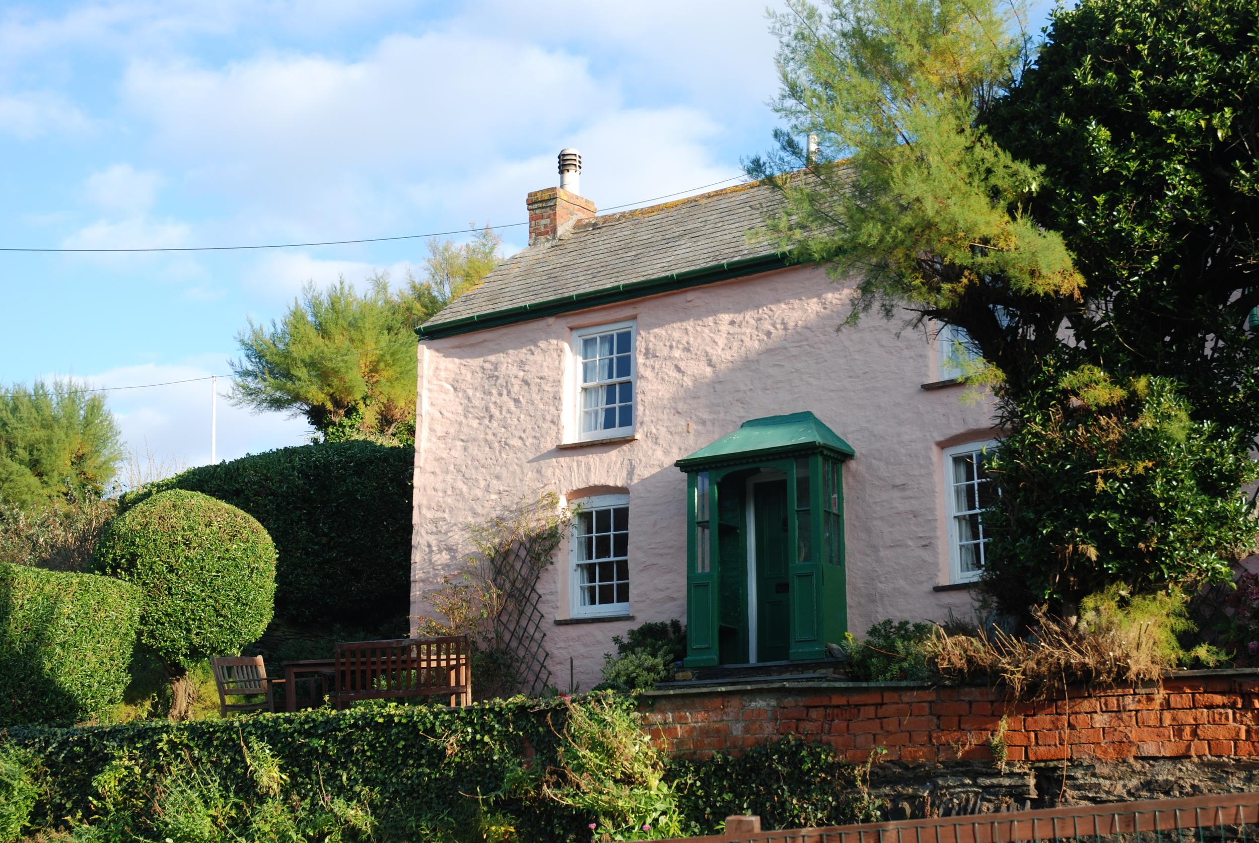 The Pink Cottage, Port Gaverne